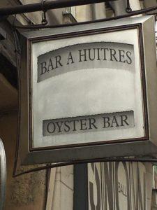 Østers bar - Bar a Huitres